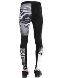 Reebok - Black One Series Compression Training Leggings for Men - Lyst