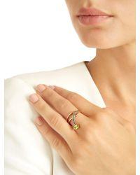 Bea Bongiasca - Metallic Gloriosa Lily Glory Rose Gold Ring - Lyst