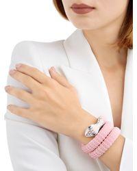TAMARA DONALLI   Pink Clea Cherry Blossom Snake Wrap Bracelet   Lyst