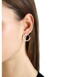 Apm Monaco - Metallic Pearl Earrings - Lyst