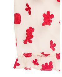 Simone Rocha - White Embroidered Cotton Tulle Veil - Lyst