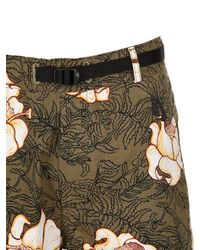 """Nike - Multicolor Pantalones Cortos """"lab"""" De Algodón Con Flores for Men - Lyst"""
