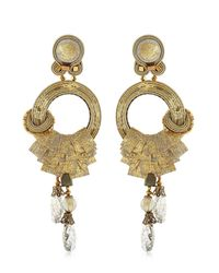 Dori Csengeri | Metallic Camelot Earrings | Lyst