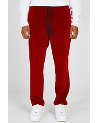 Barena - Cosma Loredan Velvet Stretch Waist Trousers for Men - Lyst