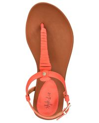 Style & Co. - Multicolor Women's Finlacey Flat Sandals - Lyst