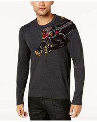 INC International Concepts - Gray Men's Panther Sweater for Men - Lyst