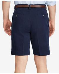 Polo Ralph Lauren - Blue Classic-fit Pleated Chino Shorts for Men - Lyst