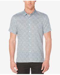Perry Ellis - Blue Men's Multiple Paisley Shirt for Men - Lyst