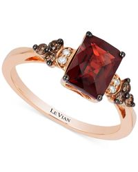 Le Vian   Pink Garnet (1-5/8 Ct. T.w.) And Diamond (1/5 Ct. T.w.) Ring In 14k Rose Gold   Lyst
