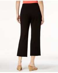 Style & Co. - Black Petite Cropped Pull-on Pants, Created For Macy's - Lyst