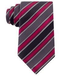 Kenneth Cole Reaction | Brown Tony Stripe Tie for Men | Lyst