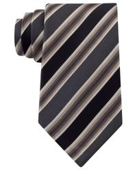 Kenneth Cole Reaction | Brown Tie, Tony Stripe for Men | Lyst