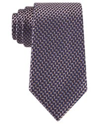 Michael Kors - Brown Michael Neat Tie for Men - Lyst