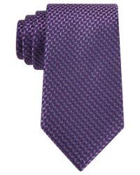 Michael Kors - Purple Aspen Neat Tie for Men - Lyst