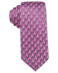Alfani - Purple Men's Avenue Solid Slim Tie for Men - Lyst