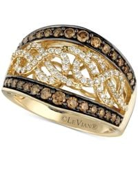 Le Vian - Brown Chocolate And White Diamond (1 Ct. T.w.) Band In 14k Gold - Lyst