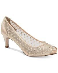 Adrianna Papell | Natural Jamie Evening Pumps | Lyst