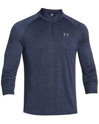 Under Armour | Blue Men's Tech Quarter-zip Pullover for Men | Lyst