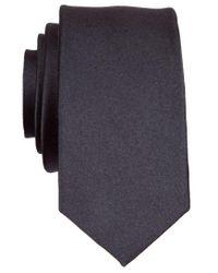 Original Penguin | Black Original Super Slim Solid Tie for Men | Lyst