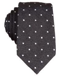 Original Penguin | Black Banville Dot Tie for Men | Lyst