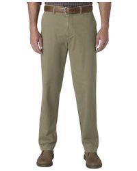 Dockers | Green D3 Classic Fit Field Khaki Flat Front Pants for Men | Lyst