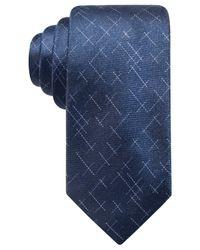 Alfani - Blue Men's Reed Dash Silk Tie, Created For Macy's for Men - Lyst