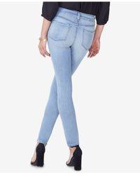 NYDJ - Blue Ami Tummy-control Skinny Jeans - Lyst