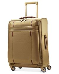 """Hartmann - Natural Closeout! 60% Off Modern Lineaire 24"""" Medium Journey Expandable Spinner Suitcase - Lyst"""