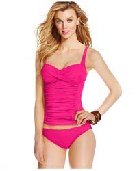 La Blanca - Pink Classic Bikini Bottom - Lyst
