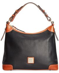Dooney & Bourke | Black Pebble Hobo | Lyst
