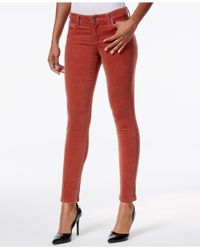 Kut From The Kloth | Red Diana Skinny Corduroy Pants | Lyst