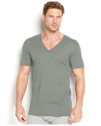 Polo Ralph Lauren | Green Men's Supreme Comfort V-neck T-shirt 2-pack for Men | Lyst