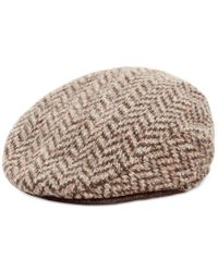 Polo Ralph Lauren | Gray Herringbone Driver Cap for Men | Lyst