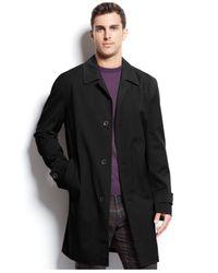 Michael Kors   Black Michael Men's Franklin Single-breasted Raincoat for Men   Lyst