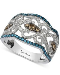Le Vian | Diamond Vintage Ring In 14k White Gold (1 Ct. T.w.) | Lyst