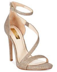 Jessica Simpson - Metallic Rayli Evening Sandals - Lyst