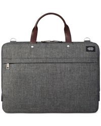 Jack Spade - Gray Tech Oxford Slim Briefcase for Men - Lyst