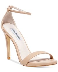 Steve Madden | Natural Women's Stecy Two-piece Sandals | Lyst