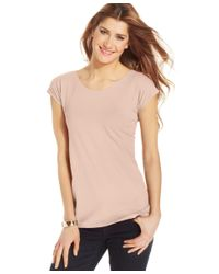 Style & Co. | Multicolor Scoop-neck T-shirt, Only At Macy's | Lyst