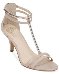 Vince Camuto - Natural Mitzy Dress Sandals - Lyst