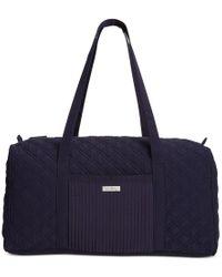 Vera Bradley | Blue Large Duffle Bag | Lyst