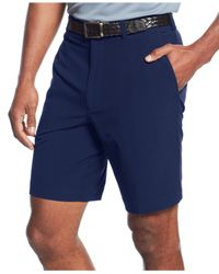 Cutter & Buck | Blue Big And Tall Drytec Flat-front Shorts for Men | Lyst