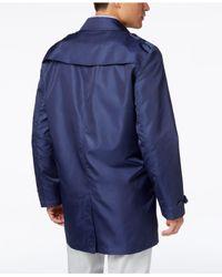 Tommy Hilfiger - White Men's Fletch Solid Rain Coat for Men - Lyst