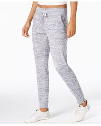 Calvin Klein - Gray Marled Joggers - Lyst