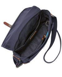 Fossil - Blue Men's Defender City Bag for Men - Lyst