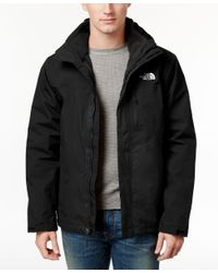 The North Face | Black Atlas Triclimate 3-in-1 Jacket for Men | Lyst