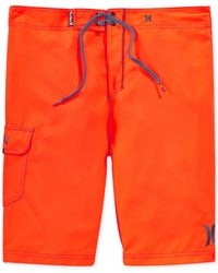 "Hurley | Orange Men's One & Only 22"" Board Shorts for Men 