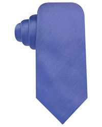 Vince Camuto | Blue Isabella Solid Slim Tie for Men | Lyst