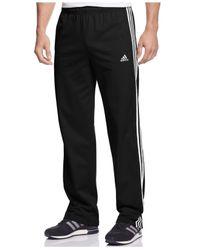 Adidas Originals   Black Men's Essential Tricot Track Pants for Men   Lyst