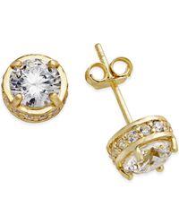 Giani Bernini | Metallic Fancy Stud Earrings In 18k Gold Over Sterling Silver | Lyst